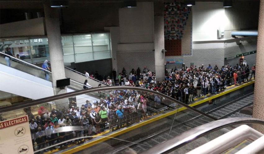 A photo of the Metro in Guadalajara Saturday.
