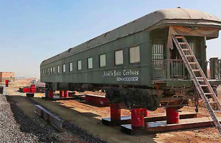 The Adolfo Ruiz Cortines will be part of the train corridor at the new airport.