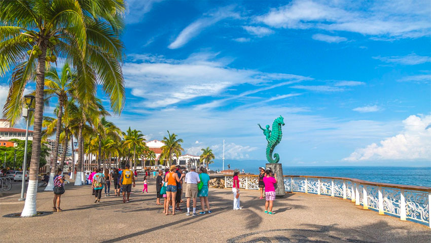 Puerto Vallarta is among the destinations being chosen over London and Paris.