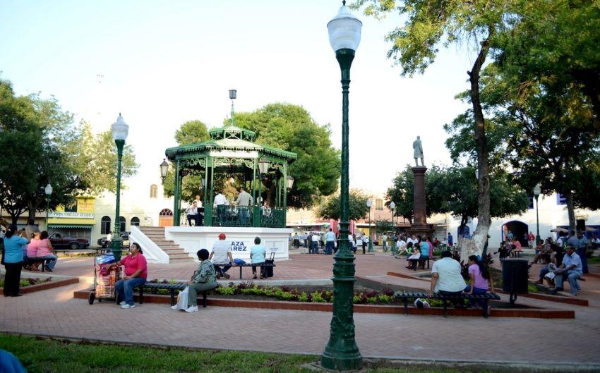 Nuevo Laredo's historic center defines public life in a way that Laredo's does not.
