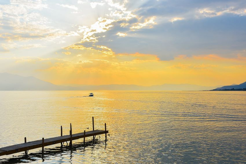 Lake Chapala's natural beauty attracts expats, but it is subject to the whims of manufacturing in upriver states.