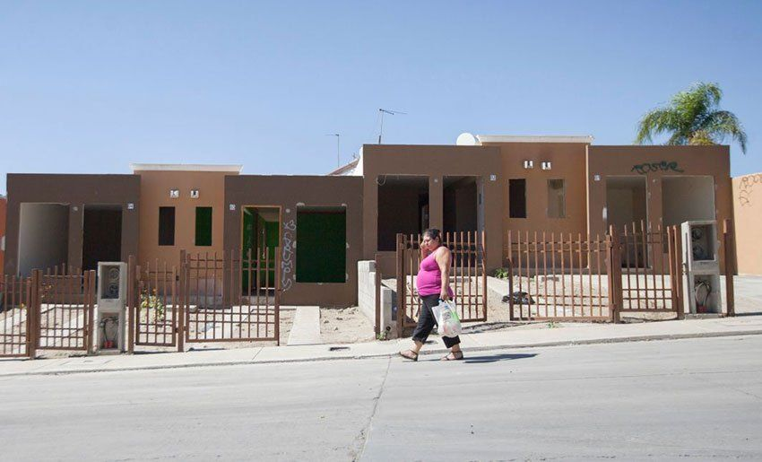 Government-built homes are often too small for families and lack amenities.