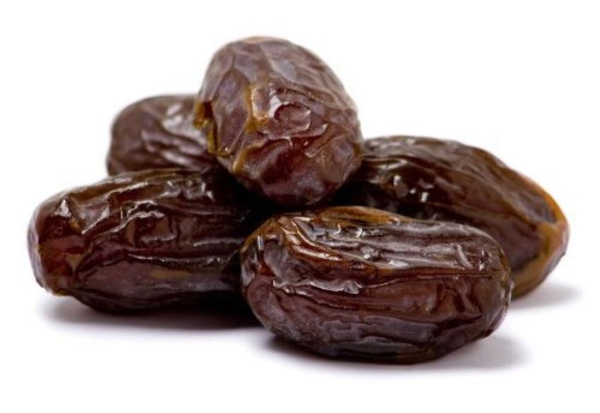 Medjool dates may look like dried fruit, but they're actually packed fresh.