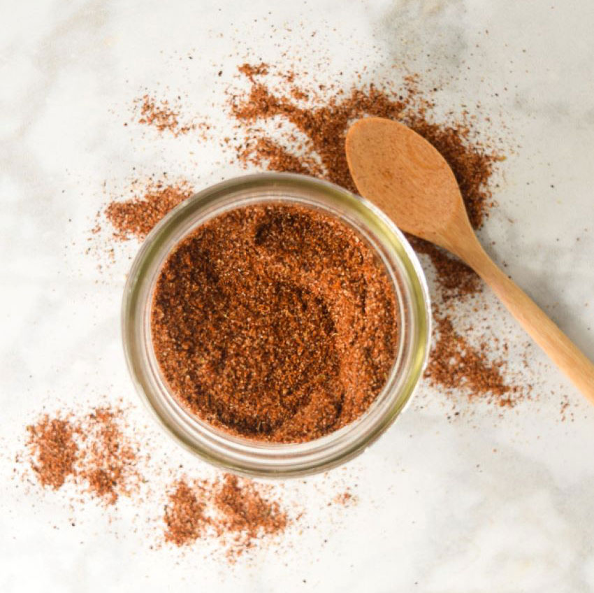This taco seasoning can also be used in red enchilada sauce.