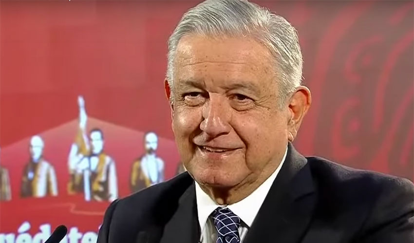 AMLO reveals poll showing he has second-highest approval rating thumbnail