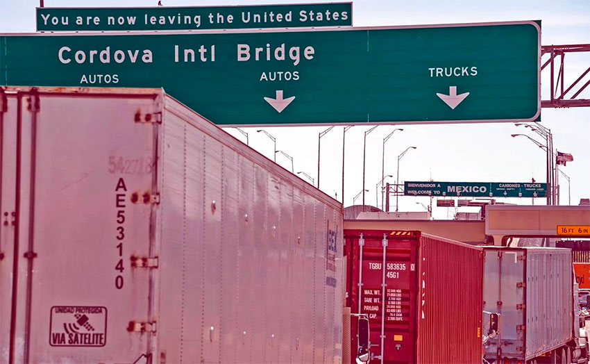 U.S.-Mexico land border to remain closed to nonessential traffic thumbnail