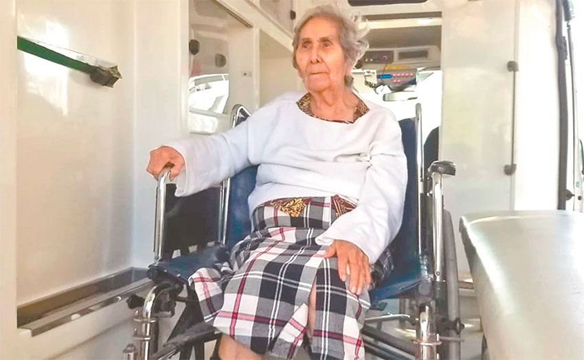 Doña Francisca, 91, wins 15-day battle against Covid-19 thumbnail
