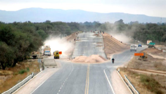 Highway construction projects are among those in the infrastructure plan.