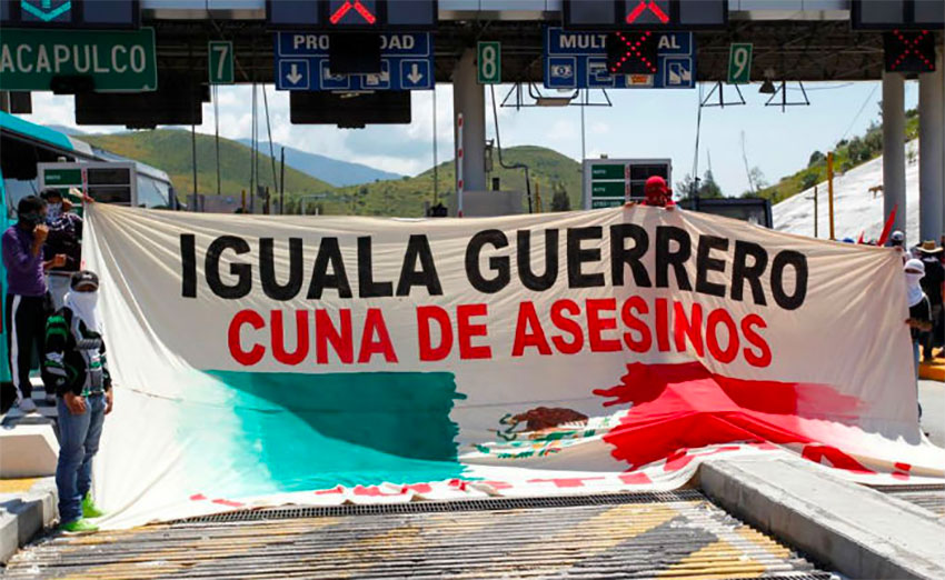 The cradle of Mexican independence has also become known as the cradle of murderers.