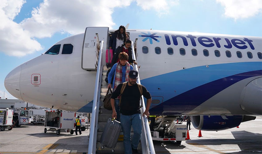 Interjet's troubles continue: all flights through Dec. 31 have been canceled thumbnail