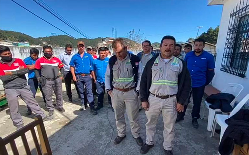 At least 15 CFE, Coca-Cola workers detained in Chiapas protest thumbnail