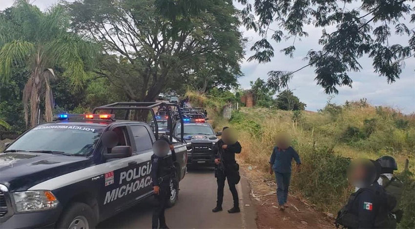 Security forces mobilize in Michoacán in response to continued cartel attacks.