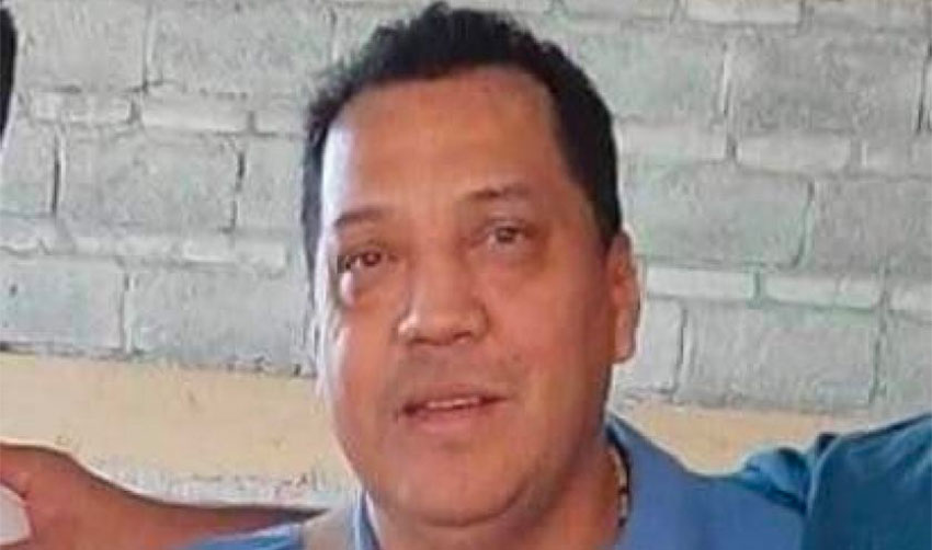 Iguala journalist Pablo Morrugares was killed last August.