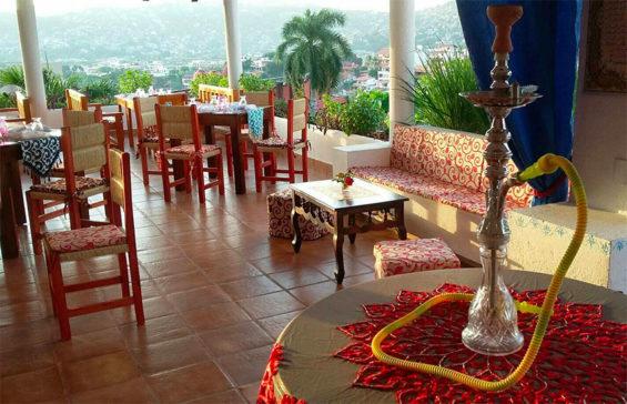 Zihuatanejo's Orient Bay restaurant.
