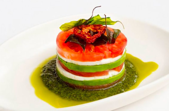 One of the dishes on the menu at Monterrey's Pangea, which placed 14th on the list.