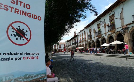 Pátzcuaro is one of 15 municipalities where Covid cases have been rising.