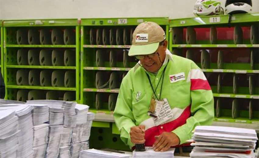 You can expect delays with Mexico's postal service.