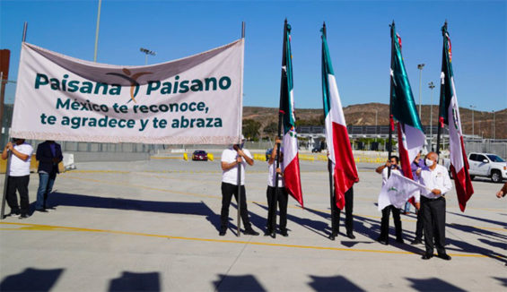 The Programa Paisano launch in Tijuana on Wednesday.