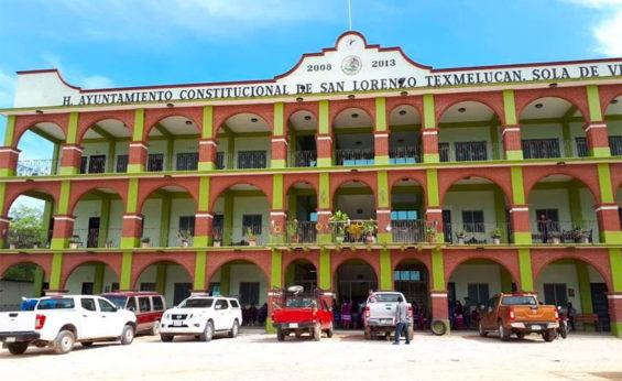 Municipal headquarters of San Lorenzo Texmelucan