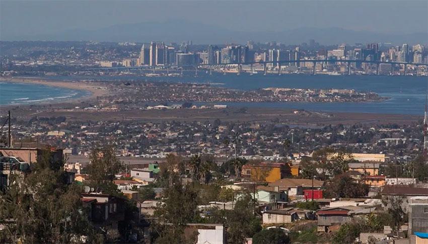 San Diego and Tijuana