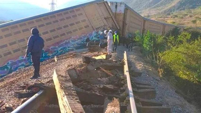 Sabotage derails 11 rail cars carrying new vehicles thumbnail