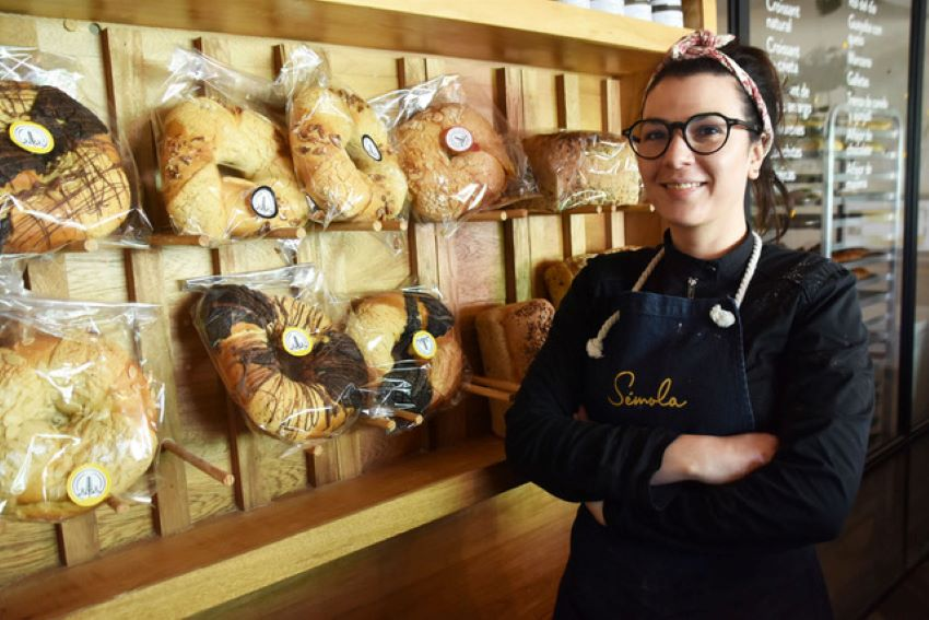 Cynthia Goyri's bakery makes different variations on the classic rosca recipe.
