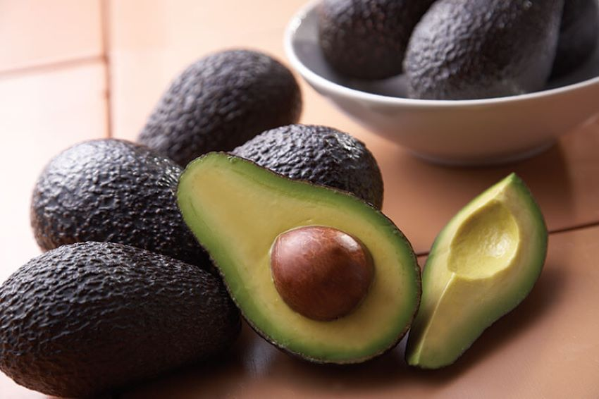 A ripe avocado is great eaten right out of the shell.