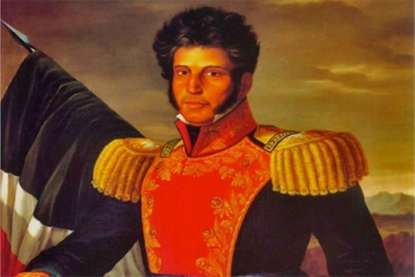 Mexico's president Vincente Guerrero was descended from African slaves.