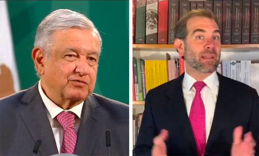 AMLO, elections authority face off over broadcast of press conference before elections thumbnail