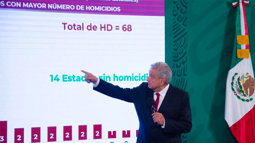 AMLO: 'profound social decay' has developed over the years.