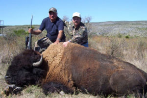 Photo that appeared on hunting ranch's website until yesterday.