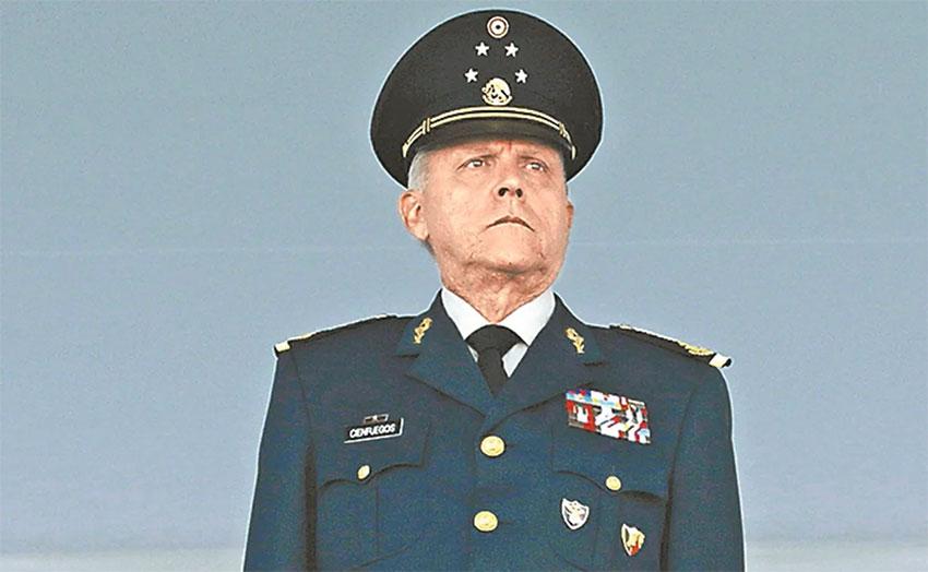 Retired army general Cienfuegos