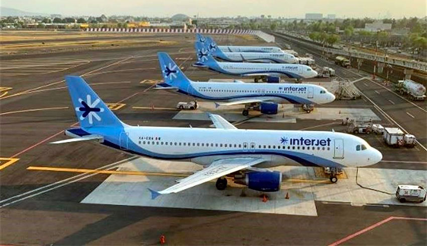 Interjet's planes will remain on the ground till January 31 thumbnail