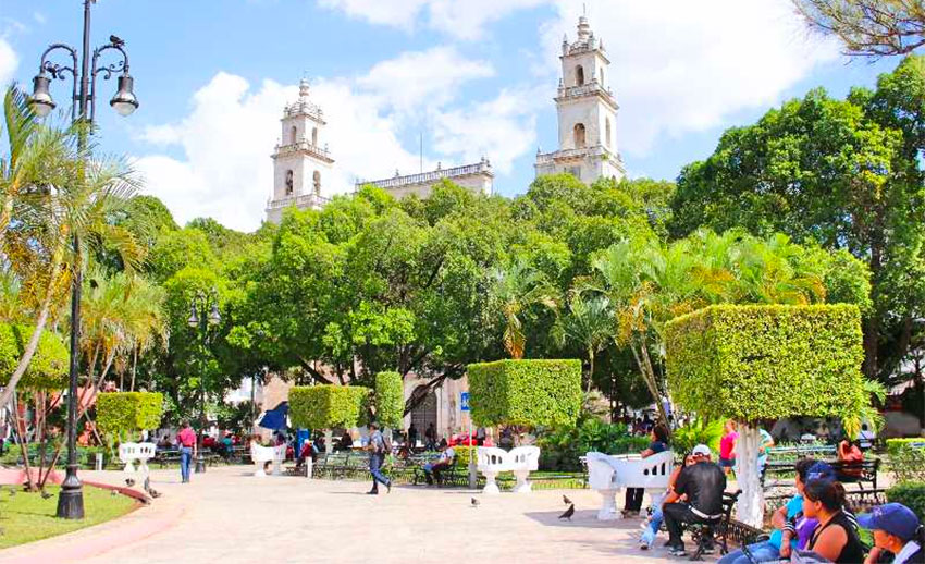 Friendly Mérida, capital of Yucatán.