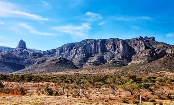The San Miguelito Sierra in San Luis Potosí.