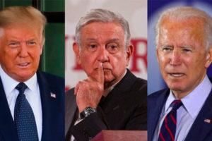 trump, amlo and biden