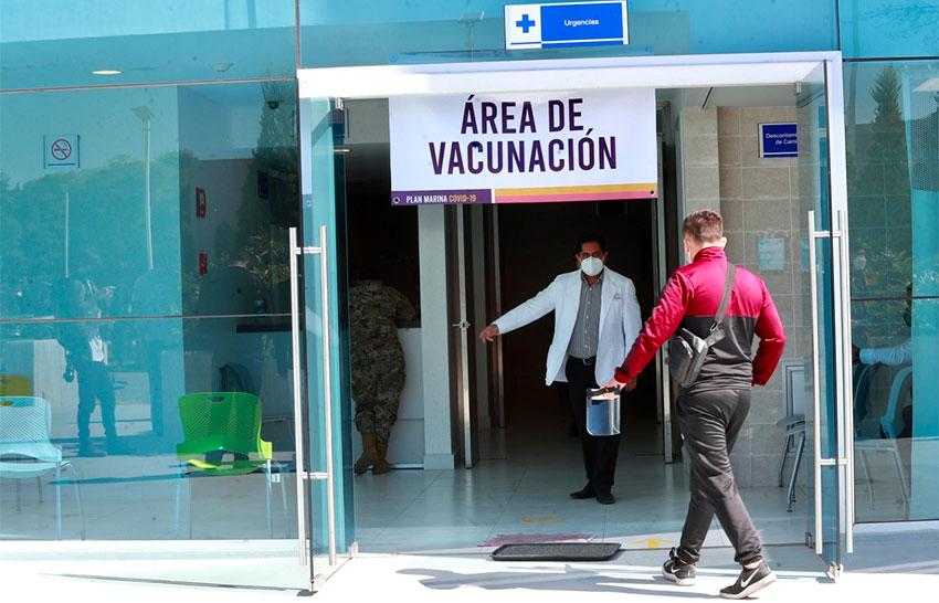 covid vaccination center
