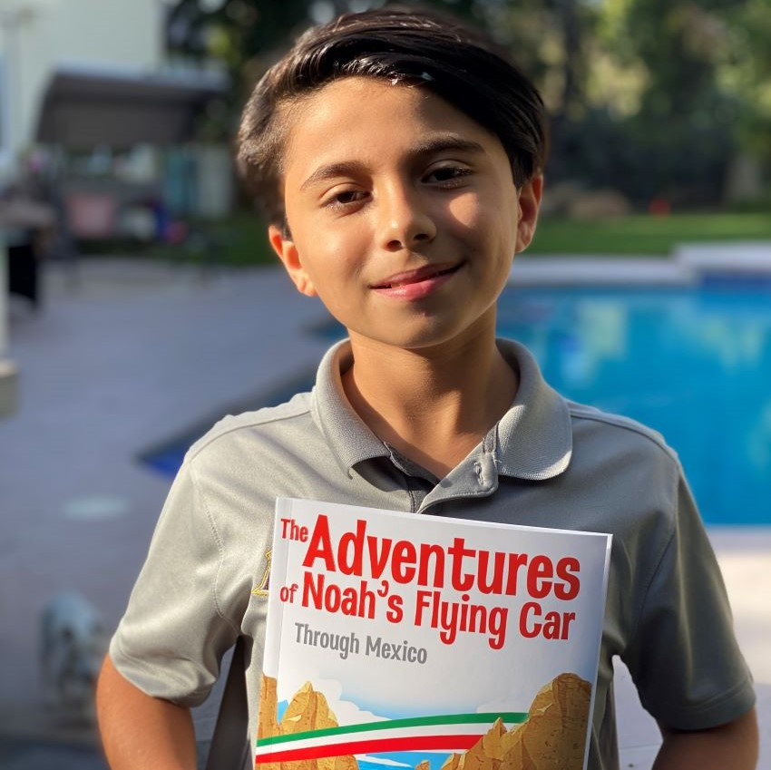 At age 11, Arden Pala is already an author and an actor.