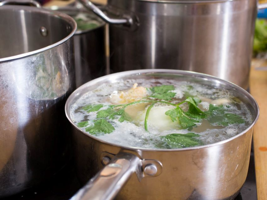 Making your own chicken stock is so worth the effort.