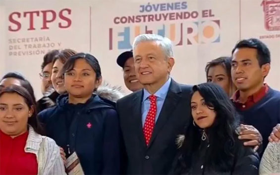 Youth Building the Future is a flagship program of the government of López Obrador.