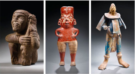 Some of the items that will go on the block at Christie's auction house.