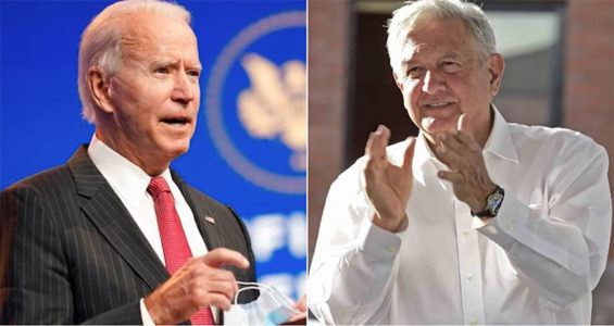 Biden and López Obrador will meet virtually on Monday.