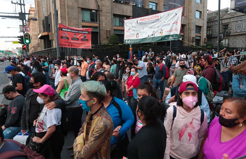 Mexico City residents will see some restrictions eased but must keep up their guard.