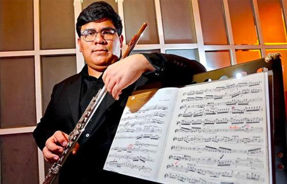 Musician Marcos Nicolás Sosa