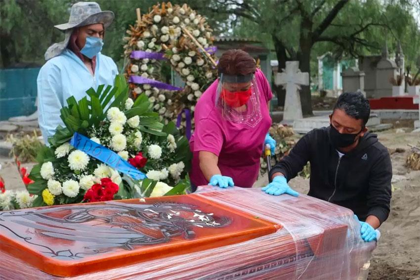 covid funeral