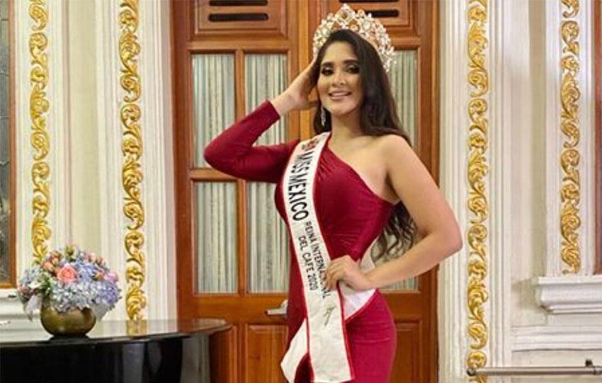 Laura Mojica was Miss Oaxaca 2018.