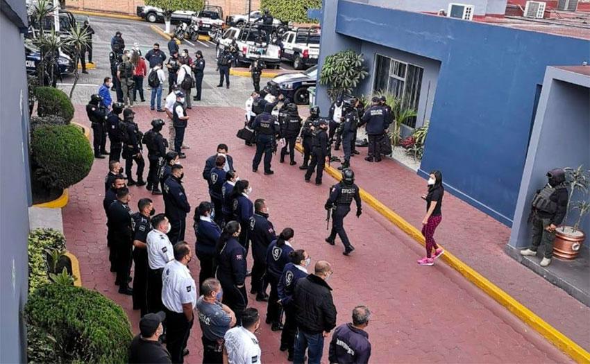 State police take over in Orizaba.