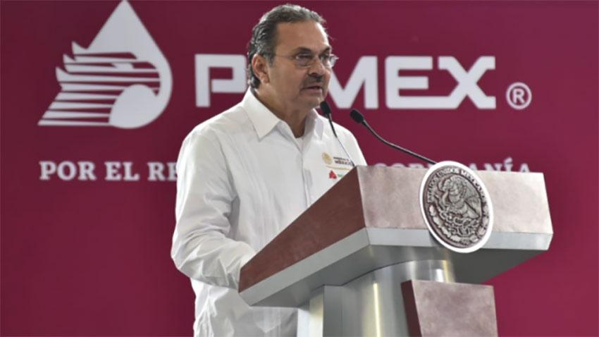 Pemex CEO Octavio Romero.