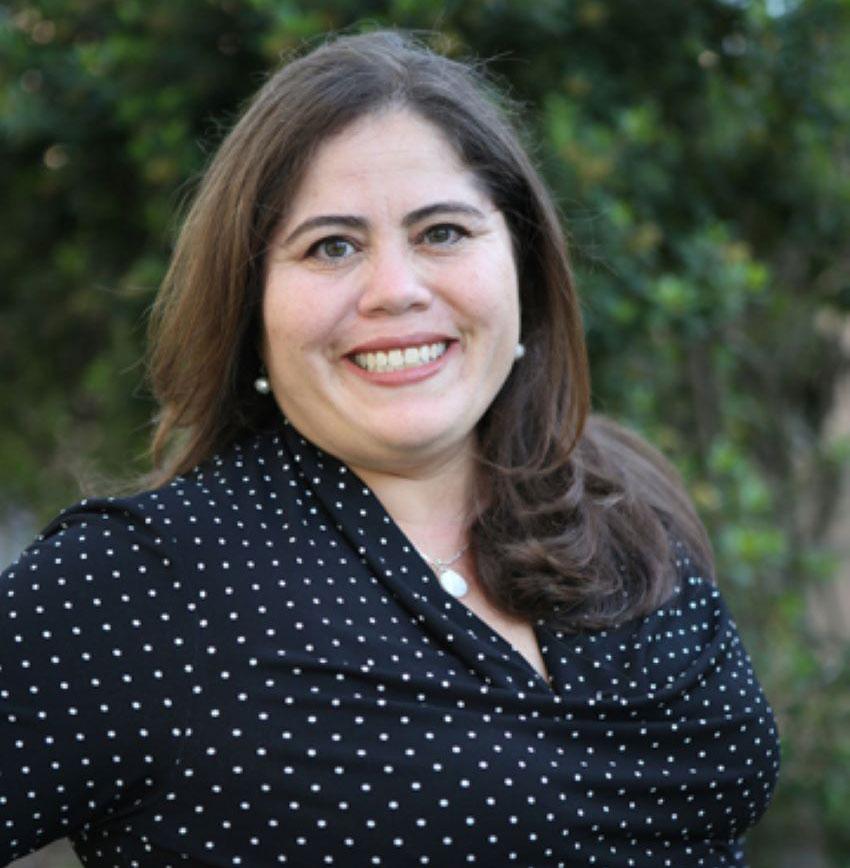History of science professor Gabriela Soto.