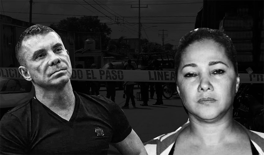 Alleged gang leader Tudor and suspected Quintana Roo cartel boss Doña Lety.